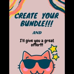 Create your bundle, will give big discount.
